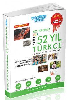 Akıllı Adam YKS Hazırlık Son 52 Yıl Türkçe Soruları ve Çözümleri