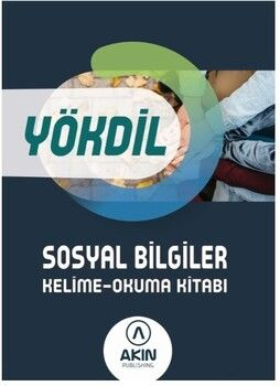 Akın Dil YÖKDİL Sosyal Bilimler Kelime Okuma Kitabı