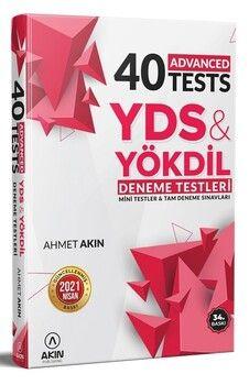 Akın Dil YDS YÖKDİL 40 Advanced Test