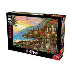Akşam Güneşi  Island Sunset 2000 Parça Puzzle - Yapboz