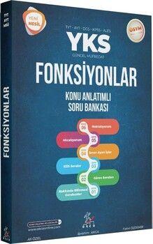 Akca Yayınları TYT AYT DGS KPSS ALES Fonksiyonlar Konu Anlatımlı Soru Bankası