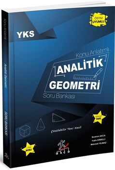 Akca Yayınları YKS Analitik Geometri Konu Anlatımlı Soru Bankası