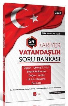 Akfon Yayınları 2020 KPSS Kariyer Vatandaşlık Soru Bankası