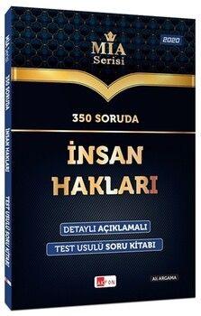 Akfon Yayınları 350 Soruda İnsan Hakları Soru Bankası MİA Serisi Ali Argama