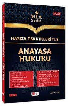 Akfon Yayınları Hafıza Teknikleriyle Anayasa Hukuku MİA Serisi Ali Argama