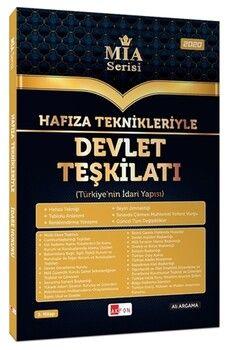 Akfon Yayınları Hafıza Teknikleriyle Devlet Teşkilatı MİA Serisi Ali Argama