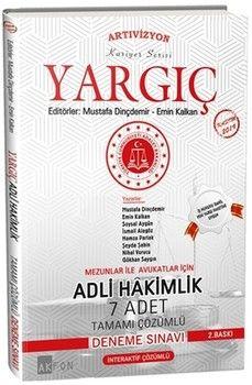 Akfon Yayınları Yargıç Adli Hakimlik 7 Adet Tamamı Çözümlü Deneme Sınavı