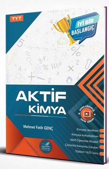 Aktif Öğrenme Yayınları TYT Aktif Kimya 0 dan Başlayanlara