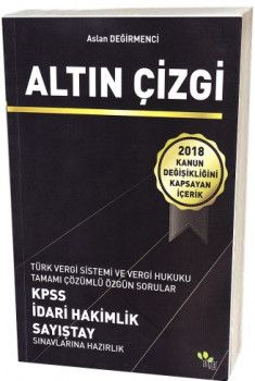 Algar Yayınları KPSS İdari Hakimlik Sayıştay Sınavlarına Hazırlık Altın Çizgi Tamamı Çözümlü Özgün Sorular