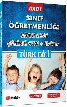 Ali Özbek 2021 ÖABT Sınıf Öğretmenliği Türk Dili Konu Anlatımlı Soru Bankası