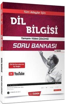 Ali Özbek 2021 KPSS TYT AYT Dil Bilgisi Video Çözümlü Soru Bankası