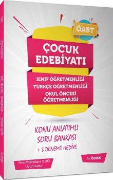 Ali Özbek ÖABT Çocuk Edebiyatı Konu Anlatımlı Soru Bankası