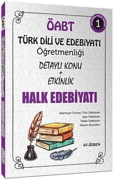Ali ÖzbekÖABT Türk Dili ve Edebiyatı Halk Edebiyatı Konu Anlatımlı 1. Kitap