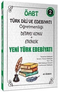 Ali ÖzbekÖABT Türk Dili ve Edebiyatı Yeni Türk Edebiyatı Konu Anlatımlı 2. Kitap
