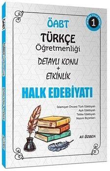 Ali ÖzbekÖABT Türkçe Öğretmenliği Halk Edebiyatı Konu Anlatımlı 1. Kitap