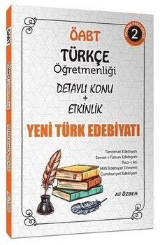 Ali ÖzbekÖABT Türkçe Öğretmenliği Yeni Türk Edebiyatı Konu Anlatımlı 2. Kitap