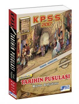 Altı Şapka Yayınları 2017 KPSS Tarihin Pusulası Konu Anlatımlı