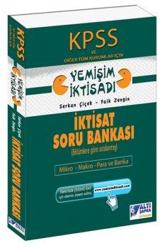 Altı Şapka Yayınları 2017 KPSS A Grubu İktisat Soru Bankası