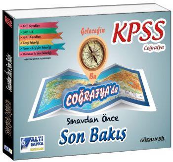 Altı Şapka Yayınları 2018 KPSS Coğrafya Sınavdan Önce Son Bakış