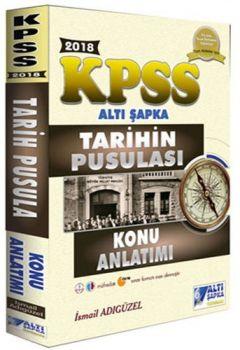 Altı Şapka Yayınları 2018 KPSS Tarihin Pusulası Konu Anlatımlı