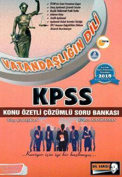 Altı Şapka Yayınları 2018 KPSS Vatandaşlığın Dili Konu Özetli Çözümlü Soru Bankası