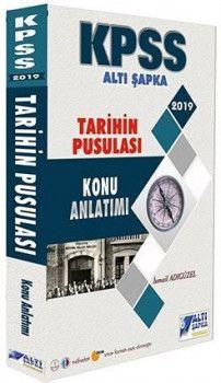 Altı Şapka Yayınları 2019 KPSS Tarihin Pusulası Konu Anlatımı