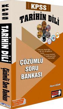 Altı Şapka Yayınları KPSS Tarihin Dili Çözümlü Soru Bankası