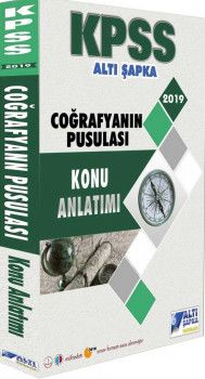Altı Şapka Yayınları 2019 KPSS Coğrafyanın Pusulası Konu Anlatımlı