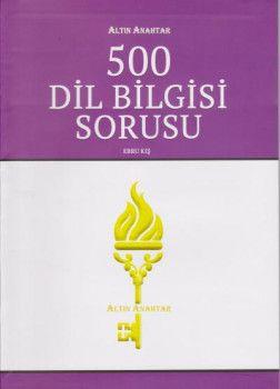 Altın Anahtar 500 Dil Bilgisi Soru Bankası