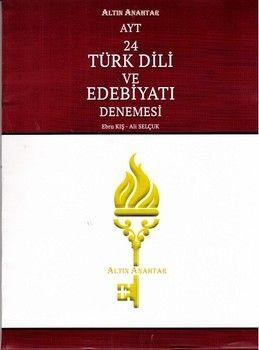 Altın Anahtar AYT Türk Dili ve Edebiyatı 24 lü Deneme