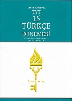 Altın Anahtar TYT Türkçe 15 li Deneme