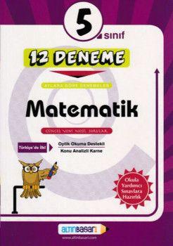 Altın Başarı Yayınları 5. Sınıf Matematik 12 Deneme