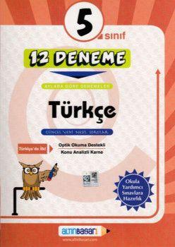 Altın Başarı Yayınları 5. Sınıf Türkçe 12 Deneme