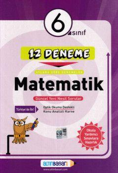 Altın Başarı Yayınları 6. Sınıf Matematik 12 Deneme