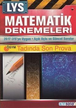 Altın Başarı Yayınları LYS Matematik 12x80 Deneme