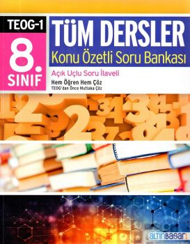 Altın Başarı Yayınları 8. Sınıf TEOG 1 Tüm Dersler Konu Özetli Soru Bankası
