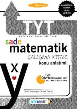Altın Başarı Yayınları YKS 1. Oturum TYT Sade Matematik Çalışma Kitabı