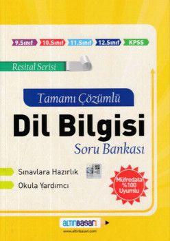 Altın Başarı Yayınları Dil Bilgisi Tamamı Çözümlü Soru Bankası