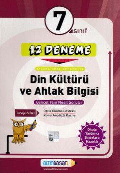 Altın Başarı Yayınları 7. Sınıf Din Kültürü ve Ahlak Bilgisi 12 Deneme