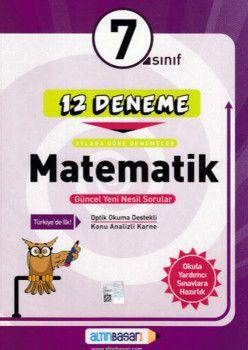 Altın Başarı Yayınları 7. Sınıf Matematik 12 Deneme
