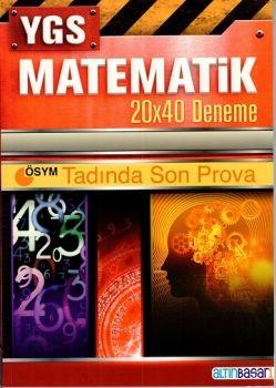 Altın Başarı YGS Matematik 20x40 Deneme