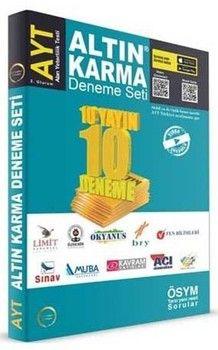 Altın Karma AYT 10 Farklı Yayın 10 Farklı Deneme