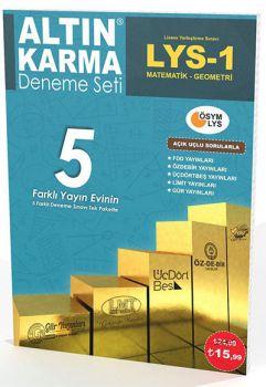 Altın Karma LYS 1 Matematik Geometri 5 Farklı Yayın 5 Deneme Açık Uçlu Sorularla