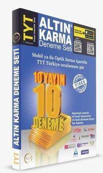 Altın Karma TYT 10 Farklı Yayın 10 Farklı Deneme Seti