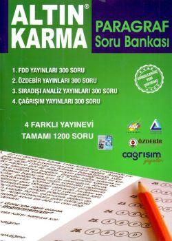 Altın Karma Yayınları Paragraf Soru Bankası