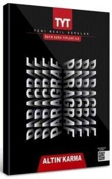 Altın Karma Yayınları ÖSYM Soru Tipleriyle TYT Paragraf Soru Bankası