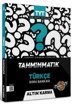 Altın Karma Yayınları TYT Türkçe Tahminmatik Soru Bankası