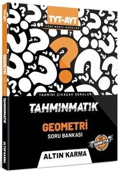 Altın Karma YayınlarıTYT AYT Geometri Tahminmatik Soru Bankası