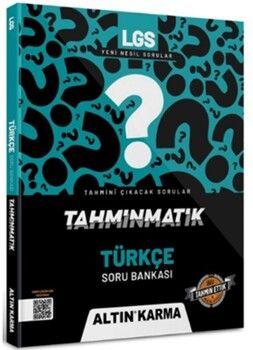 Altın Karma Yayınları8. Sınıf LGS Türkçe Tahminmatik Soru Bankası