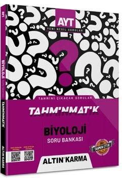 Altın Karma Yayınları AYT Biyoloji Tahminmatik Soru Bankası